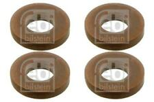 4x Fuel Injector Seal for NISSAN QASHQAI 1.5 07-on dCi J10 Diesel Febi