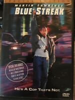 Blue Streak (DVD, 2000, Special Edition, WS, FS) - Martin Lawrence WITH INSERT✅