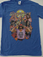Summerslam Randy Savage Ultimate Warrior Ric Flair Henning Wrestling WWE T-Shirt