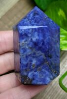 ONE (1) SODALITE Chunky Abstract Generator Crystal Reiki Charged *Read Below*
