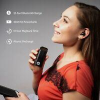 Decibel DSM Wireless Sound In Ear Earbud Headphones Talk & Powerbank