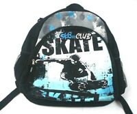 Sk8er Club Backpack Turquoise and Black