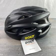 Bike/ Scooter helmet Black/ Gray Pattern One Sz