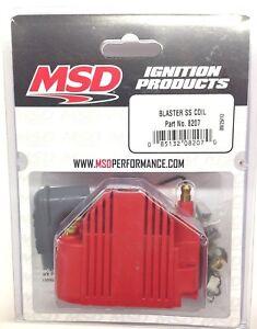 MSD 8207 MSD Ignition Blaster SS Coil High Voltage -40,000V E-Core Square Epoxy