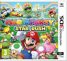 New Super Mario Bros and Sonic Party Star Rush Nintendo 3DS Game New Sealed UK R