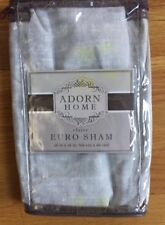 Adorn Home Euro Size Pillow Sham from The Claire Bedding Collection
