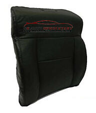 2007 Ford F150 XL Standard Cab Pickup *Driver Lean Back Leather Seat Cover BLACK