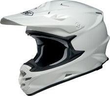 Shoei VFX-W Blanco Mx Motocross Moto X Enduro Completo Race Spec casco de motocicleta