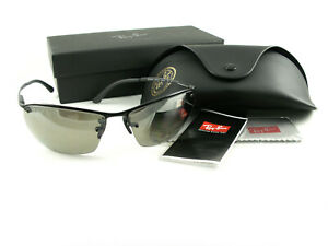 Ray-Ban Sunglasses RB3544 Black Green Polarized 002/5J New Authentic