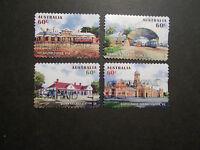 2013 Australia Self Adhesive Post Stamps~Historic Railways~Fine Used, UK Seller