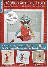 French cross stitch magazine Creation point de croix No.46 Special. Bell & Boo