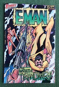 E-Man #14 First Comics Bronze Age Joe Staton Energy Man vf