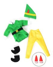 Christmas Elf Custom Clothes Buddy costume Lot Props New On For The Shelf