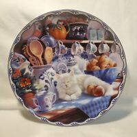 Warm Country Moments Mabel's Sunny Retreat Mary Ann Lasher Cat Plate No. 11721 G