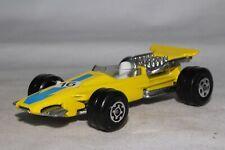 MATCHBOX SUPERFAST #34 FORMULA 1 RACING CAR, YELLOW, EXCELLENT, ORIGINAL