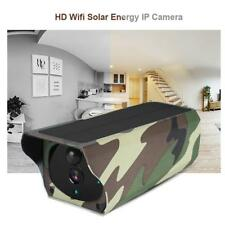 WiFi Solar IP Kamera Überwachungskamera 1080P Nacht sicht Bewegungssensor IP67