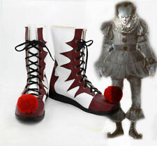 Stephen King IT Movie Pennywise Cosplay Halloween The Clown Costume Fancy Dress-
