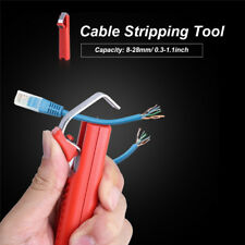 New Hot Rubber Cable Tool Wire Stripper Knife Wire Stripping Cutter Crimping 00004000  Os