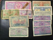 USA MILITARY PAYMENT LOT OF 11 NOTES!