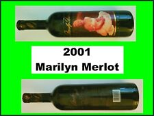 2001 MARILYN MONROE MERLOT Red Wine SEALED Collectible Celebrity MINT *********
