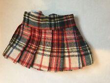 Terri Lee Doll Clothing Plaid Skirt Tagged 1950's