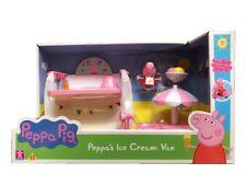 Peppa Pig Ice Cream Van Playset With Figure Toy Playset & Accessories
