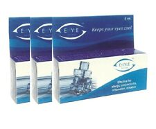 3x Jiwadaya  Ayurvedic Rose Water Base Herbal Eye Drops for Dry Eyes,5ml Each