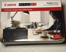 Canon PIXMA TR4522 Compact Wireless All-in-One Inkjet Home Office Printer W/ INK