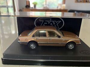 Trax. 1/43 Scale. TR61C. 1980 Holden VC Commodore. Gold Metallic L. Diecastmodel