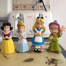 Disney Alice In Wonderland Snow White Cinderella & Dopey Large Size Cake Toppers