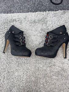 Iron Fist Ladies Boots Size 4
