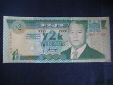 FIJI 2000 COMMEMORATIVE ISSUE - $2 (Y2K)  - P102a - UNCIRCULATED