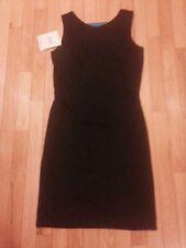 GITANO Black Sleeveless Sheath Dress  Size Small New with Tags!