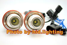 BMW CREE 10W 20W LED Angel Eye Halo ring Light Error Free White E39 E60 E61 E87