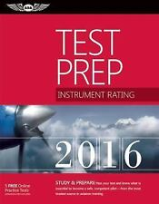 Instrument Rating Test Prep 2016 Book and Tutorial Software Bundle: Study &