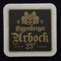 Eggenberger Urbock 23° Mac Queen's Nessie Whisky Malt Red Beer Coaster (B306)
