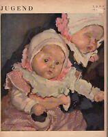 1920 Jugend June 6 German Art Nouveau Cover - Twins