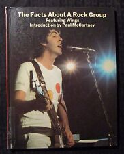 1977 THE FACTS ABOUT A ROCK GROUP Paul McCartney & Wings HC VG- 3.5 1st Harmony