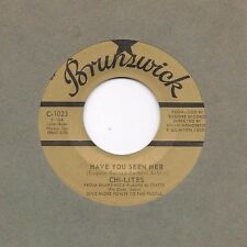 CHI-LITES * 45 * Have You Seen Her  / Yes' I'm Ready * Near MINT Brunswick * RI