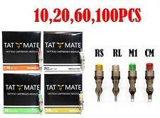 10,20,60,100 pcs Disposable Sterile Tattoo Needle & Needle Cartridge RL,RS,M1,RM