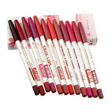 12pcs Professional Lipliner Waterproof Lip Liner Pencil 15cm 12 Colors Set