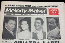 September Melody Maker Music, Dance & Theatre Magazines