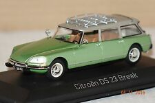 Citroen DS 23 break 1974 verde met. 1:43 norev nuevo & OVP 155044