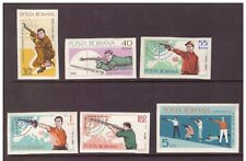 Romania MNH 1965 Shooting Championships  set imperf. mint stamps
