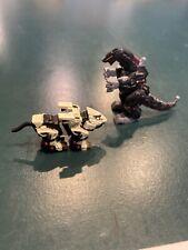 Zoids Mini Figures Death Saurer Liger Zero White Lot