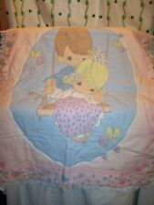 Precious Moments Boy Pushing a Girl on a Swing Crib Comforter Quilt Blanket