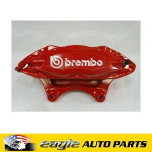 HOLDEN VE COMMODORE REDLINE BREMBO RHF BRAKE CALIPER LESS PADS 4 SPOT # 92262422