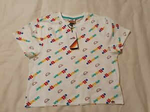 ELLESSE Short Sleeve Crop Top Size 12