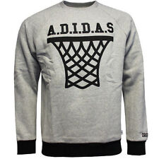 adidas Cotton Crew Neck Sweatshirts for Men