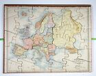 Single atlas puzzle - Europe - Pauly, early 1920s